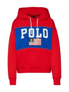 Sweatshirt 'RLXD FLAG HD-LONG SLEEVE-KNIT'