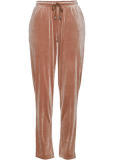 Dames broek in bruin