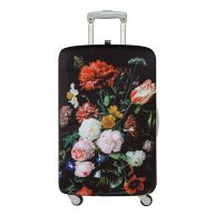 LOQI Kofferhoezen Luggage Cover Museum Collection Zwart