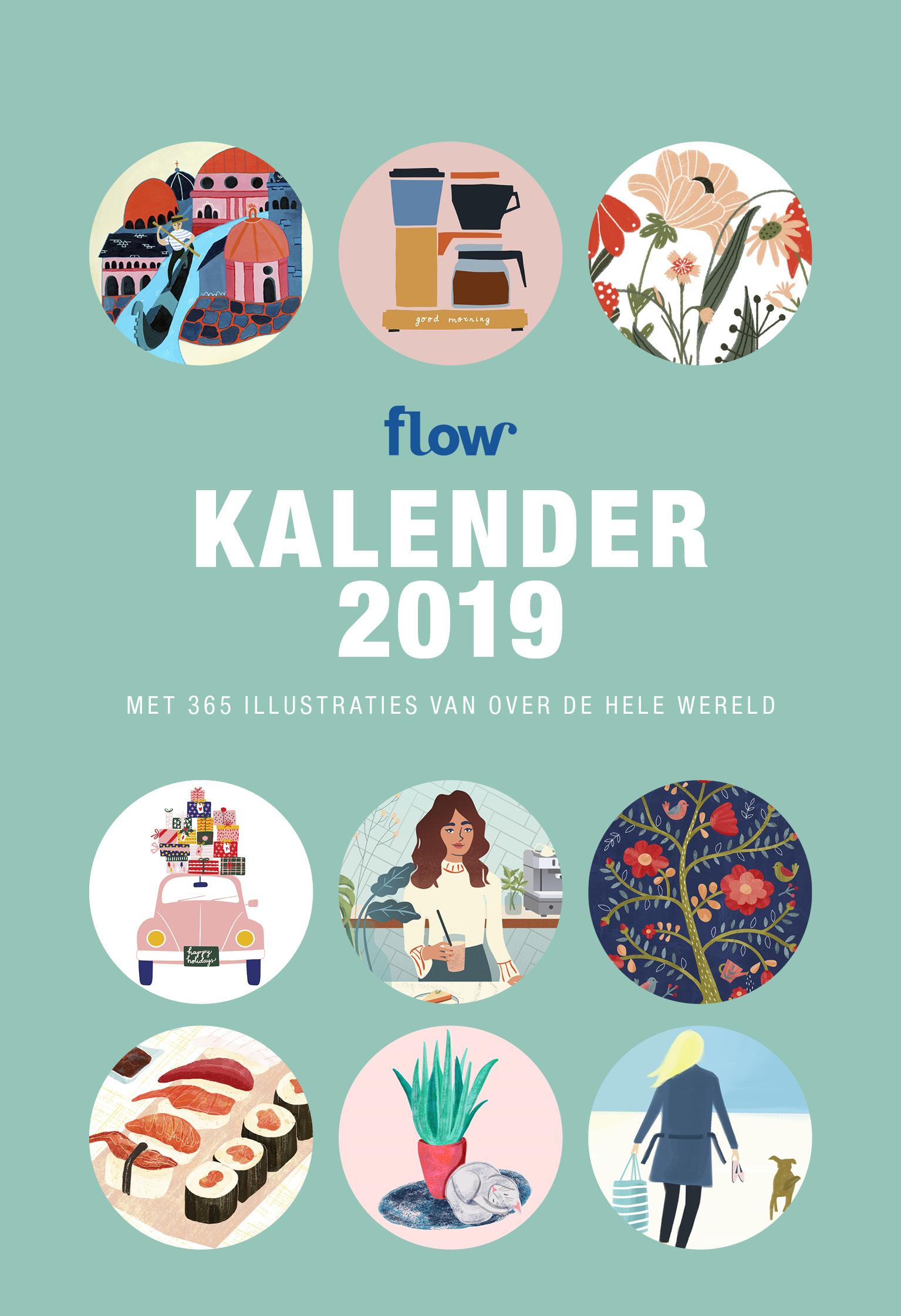 Flow Scheurkalender 2019