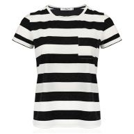Striped Top - Black