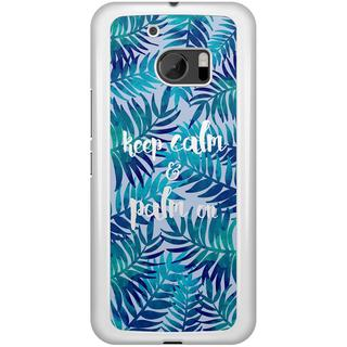 HTC 10 hoesje - Keep calm and palm on