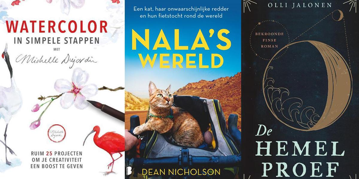 Nieuwe boeken in februari 2021 - Flow Magazine NL