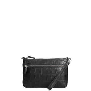 Pouch Vintage Croco clutch black