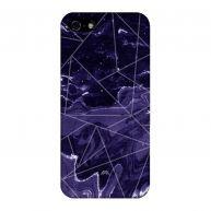 iPhone 5(s) / SE Hardcase hoesje Marble Geo Dark