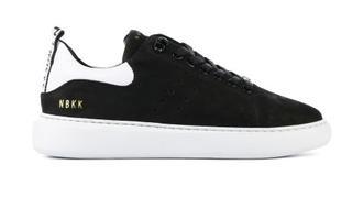 Dames Sneakers in Nubuck (Zwart)