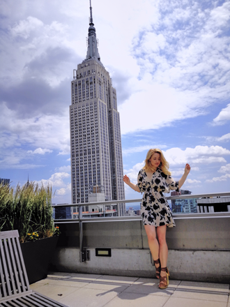 Model Tanja in NYC! Episode 4: Work that body