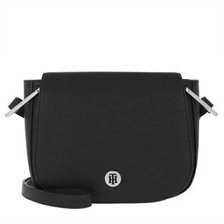 Tasche - TH Core Saddle Bag Black in zwart voor dames