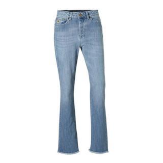 jeans met slijtagedetails