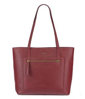Handtassen Bag Girl Boss Gold Rood