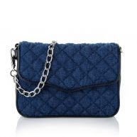 Rebecca Minkoff Schoudertassen - Affair Fanny Bag Denim Silver in blauw - canvas voor dames