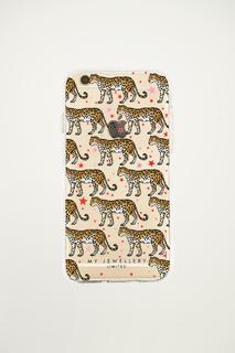 Leopard & Stars Iphone Case