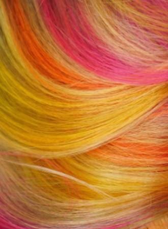Highlighter hair brengt je terug naar de middelbare school