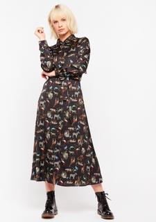 Maxi hemd jurk