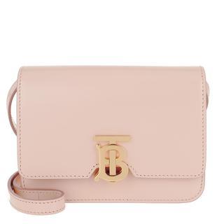 Cross Body Bags - TB Monogramm Crossbody Bag Mini Calfskin Rose Beige in roze voor dames - Gr. Mini