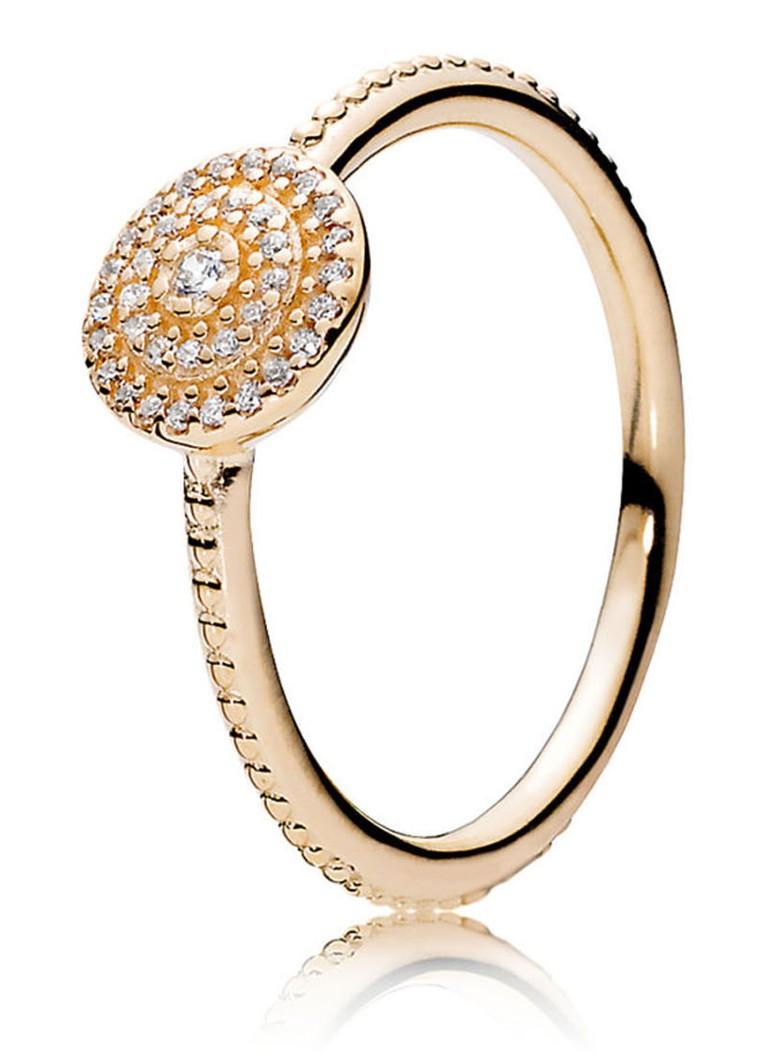 WUYJhUaod9 Elegante ring van 14k goud 150184CZ foto's Klaring Lage Verzendkosten Goedkoop Origineel Korting Bezoek B6AEwQ