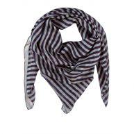 Zijden sjaal streep