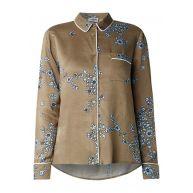 Essentiel Natasha blouse met bloemendessin en pyjama look