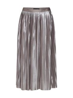 Rok 'PLEATED METALLIC SKIRT'