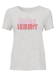 Dames T-shirt Lichtgrijs (lichtgrijs)
