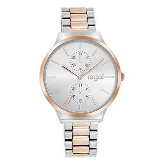 horloge met bicolor band