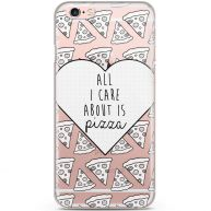 iPhone 6/6s siliconen hoesje - Pizza is love