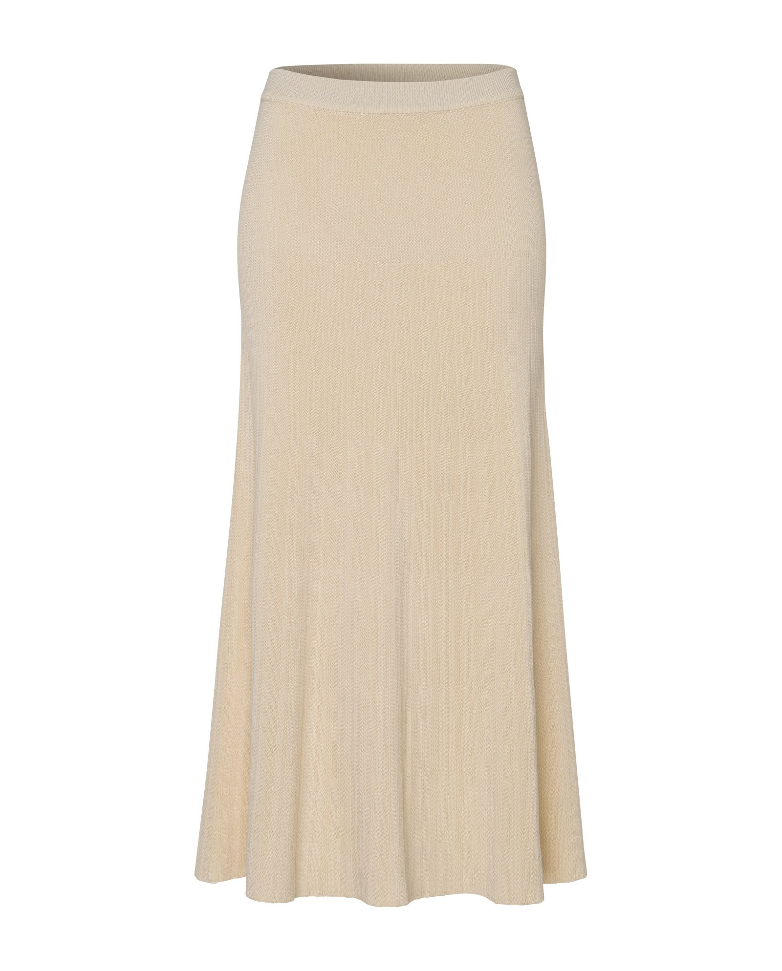Skirt Ivyamp; Sand Oak Flared Light Knit Midi 5SRL34jqcA