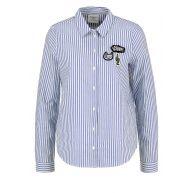 Vero Moda VMBADGE Overhemd bright white/blue
