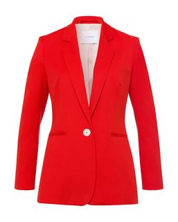 Piqué Blazer Lovers Red