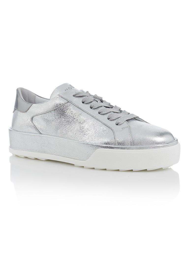 Maxi Cassetta sneaker van leer met metallic finish Erg Goedkoop Gratis Verzending Vele Soorten Goedkoop Uiterst bestellen M0QNBXTf