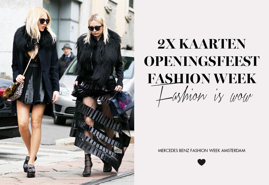 Win Fashion Week kaarten