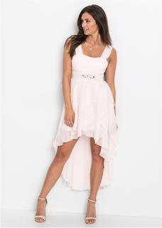 Dames jurk zonder mouwen in roze