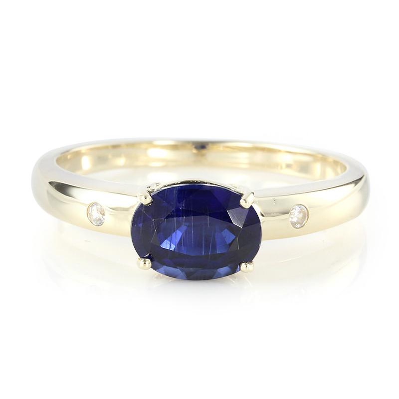 Laagste Prijs Online Officieel Te Koop Juwelo Gouden ring met een kyaniet crSFLUcp8