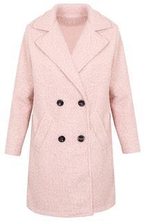 Teddy Coat Oud Roze