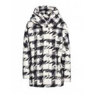 Jas - Wool Uni Check Black White