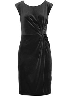 Dames shirtjurk zonder mouwen in zwart