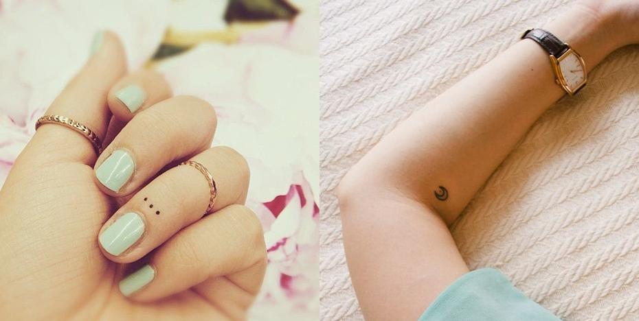 kleine tattoo