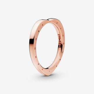 Heart-Shaped Logo Ring, Sieraden, No stone, 187379-52