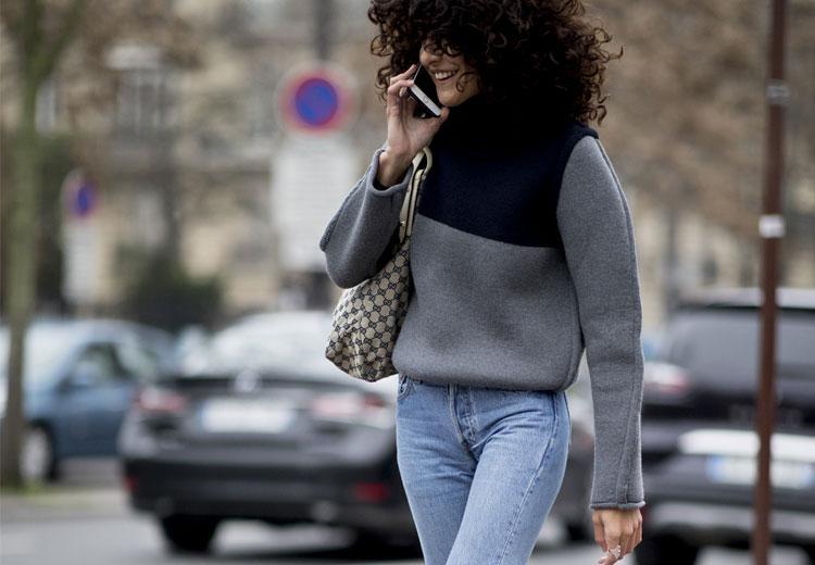Nu kan je de cropped jeans ook in de winter aan