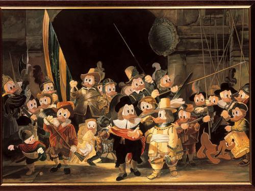 Rijksmuseum toont vanaf vandaag originele Duckwacht in 'Lange Leve Rembrandt' tentoonstelling