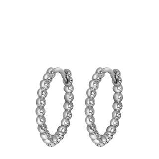 Zilveren oorbellen bolletjes 15mm