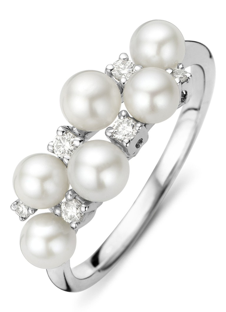 Point De Diamant Parelring Livraison Gratuite Vraiment Pas Cher Obtenir La Dernière Mode PDLcjRy