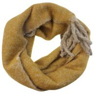 Oversized Knitted Scarf - Yellow
