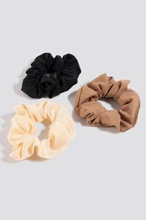 3-Pack Woven Scrunchies