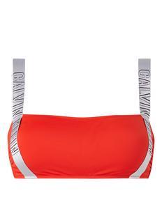 Intense Power bandeau bikinitop met logoband