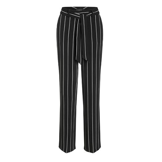 Cambio ZwartWit Pantalon ZwartWit Cambio Pantalon Cambio Streep Streep m8wv0NnO