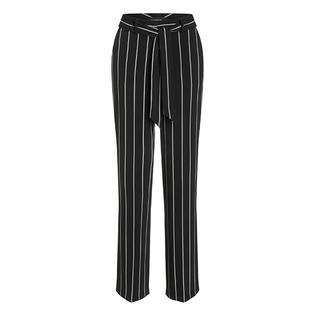 pantalon streep zwart / wit