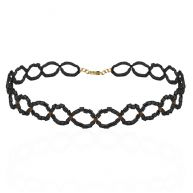 Sparkle Choker- Black