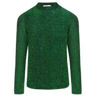 Glitter Long Sleeve Top - Green