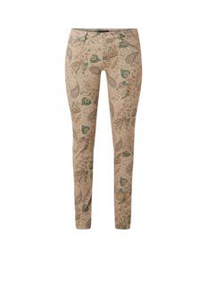 5 Pocket skinny fit broek met paisley dessin